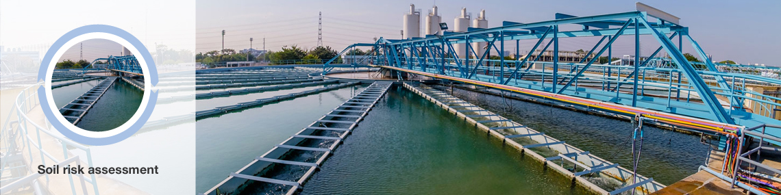 Wastewater treatment Soil risk assessment